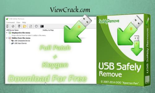 USB Safely Remove 6.3.3.1287 Crack With Keygen[Lifetime]