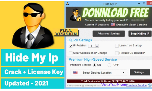 Hide My IP 6.0.630 Crack With License Key Full Version 2021