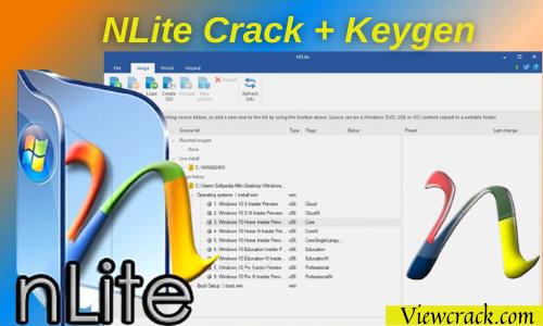 NTLite 2.1.0.7742 Crack With License Key Torrent Latest [32/64 Bit]