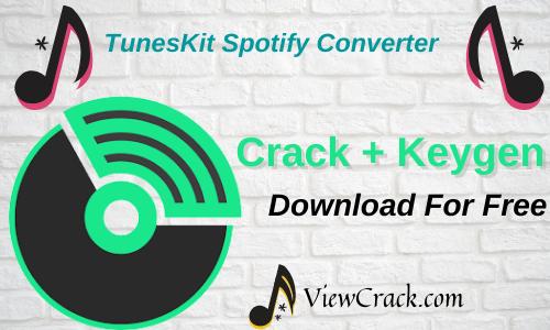 TunesKit Spotify Converter 2.1.0 Crack With Registration Latest Version