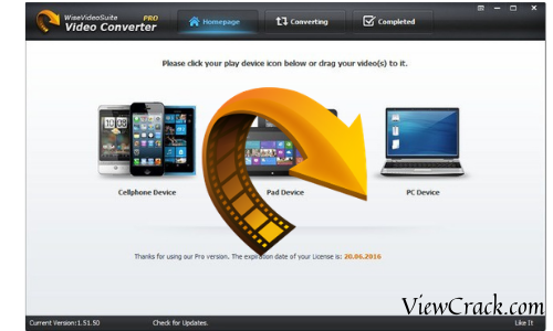 Wise Video Converter Pro 2.3.1.65 Crack + Portable Free Download