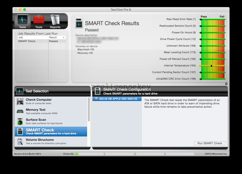 TechTool Pro 13.0.2 Crack For MAC Full Version 100% Working Download Free